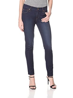 James Jeans Women's Twiggy Azure 5 Pocket Skinny Jean (Dark Blue)