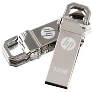 HP V-250 W 32 GB Pen Drive (Steel)