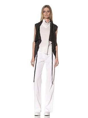 Ann Demeulemeester Women's Sweater Vest (Pearl)