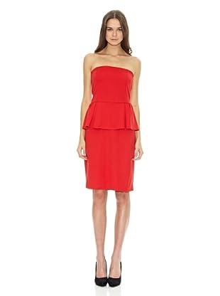 Mango Vestido Suzie (Rojo Valentino)