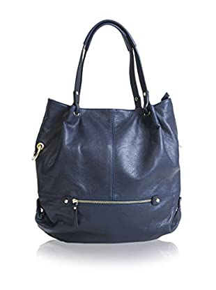 Pia Sassi Schultertasche Shopping blau one size