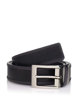 Calvin Klein Men's Reversible Flat Belt (Grey/Black)
