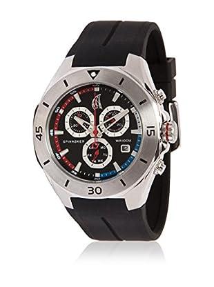 Spinnaker Uhr mit schweizer Quarzuhrwerk Keel schwarz 43 mm