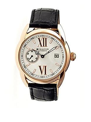 Heritor Automatic Uhr Burnell Herhr1805 schwarz 47  mm