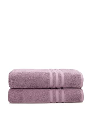 Chortex Set of 2 Irvington Bath Sheets, Grape