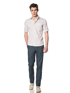 Camo Men's Ospizio di S.G. Short Sleeve Shirt (Flower)