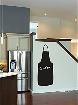 Ambiance Live Wandtattoo Cooking apronboard (Includes Chalk) schwarz