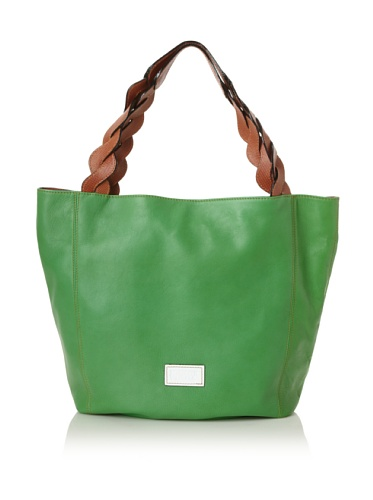 Meredith Wendell Women's Curve Strap Tote (Green)