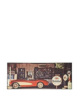 ABC Tappeti Alfombra Vinyl Vn03 Gasoline Barro 50 x 120 cm