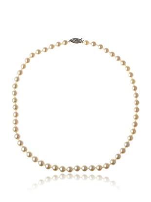 Radiance Pearl AAA Quality White Akoya Pearl Necklace