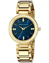 Kenneth Jay Lane Women's KJLANE-2610 Glitz Analog Display Japanese Quartz Gold Watch