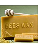 Hansi Organics 5 Cute 1oz Bars of Natural Beeswax 5oz pure beeswax hand poured in USA by Larkin Hansi crafts-persons