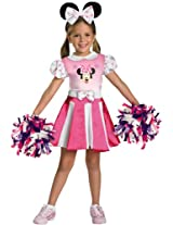 Disguise Disney Mickey Mouse Clubhouse Minnie Mouse Cheerleader Girls Costume One Color/X-Small (3T-4T) AD