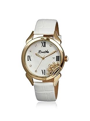 Bertha Women's BR2401 Queen White Leather Watch