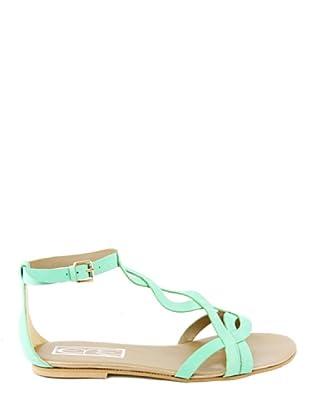 Eye Shoes Sandalias Trenza (Verde Claro)