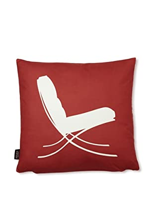 Inhabit 1929 Pillow (Scarlet)
