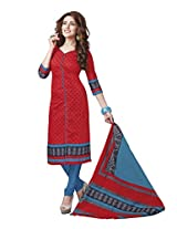 Suhanee Womens Cotton Unstitched Dress Material (Suhanee`S Exclusive Snehaa 1072 _Multi-Coloured)