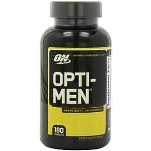 Optimum Nutrition (ON) Opti-Men Multivitamins - 180 Tablets