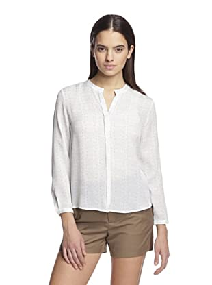 Band of Outsiders Women's Long Sleeve Blouse (Light Blue)
