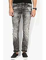 Grey Low Rise Slim Fit Jeans (vapour) Pepe Jeans