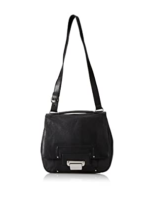 Kooba Jude Flap Shoulder Bag (Black)
