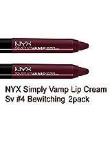Nyx Simply Vamp Lip Cream 2 Pack (#4 BEWITCHING)