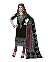 Suhanee Womens Cotton Unstitched Dress Material (Suhanee`S Exclusive Snehaa 1073 _Multi-Coloured)