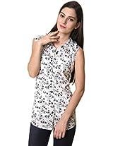 Rute Women's Shirt (S4_SWSL_14_White_XXXX-Large)