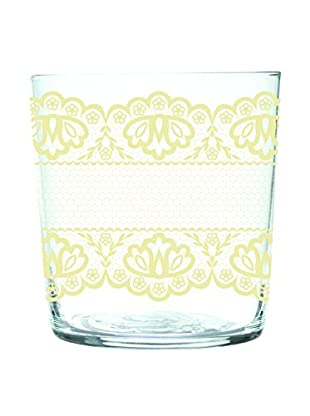 Brunch Time Glas 6er Set Lace transparent/creme
