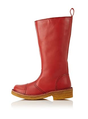 Swedish Hasbeens Women's Worker Boot (Red)
