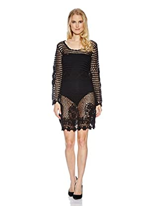 Cream Kleid Zenia (schwarz)