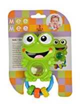 Mee Mee Funny Frog Rattle, Multi Color
