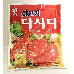 牛肉ダシダ(韓国料理調味料)(プゴク韓国のスープ料理には欠かせない必須品!牛肉の素)100g