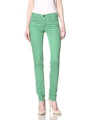 MILK Denim Women's Skinny Jean (Green Apple)