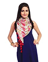 Red Riding Women's Scarf (STOVISS15001_Multi-Coloured_Free Size)