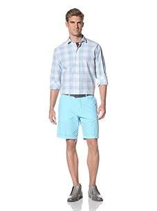 Scott James Men's Booker Shirt (Aqua)