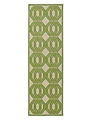 Kaleen Five Seasons Indoor/Outdoor Rug, Green, 2' 6