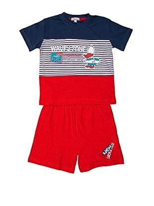 Pillerias Pijama Pato Temiscira (Rojo / Marino)
