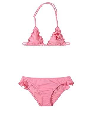John Galliano Girl's Ruffled Bikini (Rose)