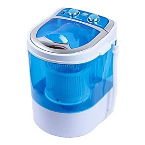 DMR 30-1208 Portable Mini Washing Machine with Dryer Basket (3 kg, Blue)