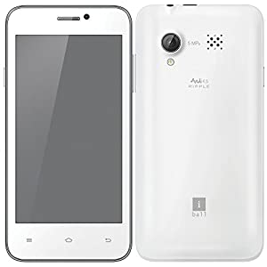 iBall Andi Android Smart Phone 3G Enabled - Grey & Chrome Colored