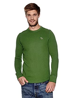 Abercrombie & Fitch Pullover Classic Crew (grün)