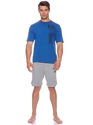 Abanderado Pijama H-20 (Gris/Azul)