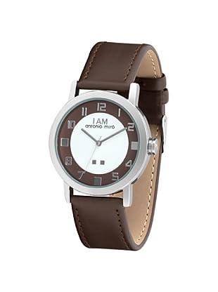 Antonio Miró AM1011M - Reloj Unisex movimiento de cuarzo con correa de piel