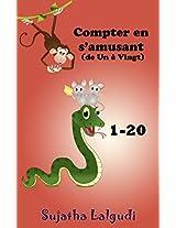 Compter en s'amusant (de Un à Vingt) - un beau livre d'images avec des animaux pour les enfants