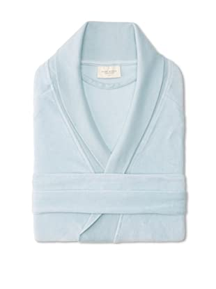 Nine Space Organic Cotton Velour Robe (Blue)