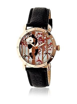 Bertha Uhr mit Japanischem Quarzuhrwerk Lilly schwarz 41 mm