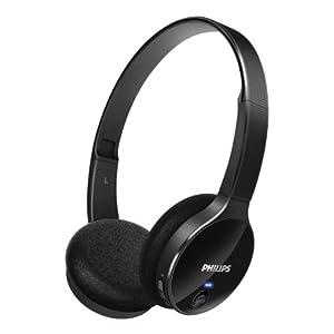 Philips SHB4000/00 On-Ear Bluetooth Stereo Headset (Black)