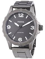 Fossil End of Season Analog Black Dial Men's Watch - JR1457