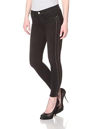 Textile Women's Tuxedo Ozzy Pant (Moondance)